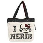 I Love Nerds - Hello Kitty Tote Bag