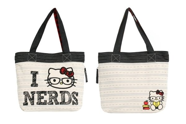 I Love Nerds - Hello Kitty Tote Bag