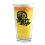 Legendary Partying Pint Glass