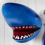 Inflatable Shark Head