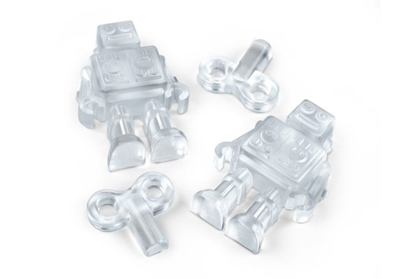 Chillbots Robot Ice Tray :  robot ice tray chillbot