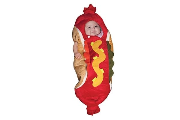 Hot Dog Bunting - Baby Costume