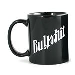 Bullshit / Meeting Ambigram Mug