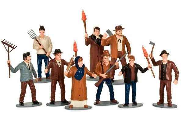 Angry Mob Playset. OMG I want one. http://www.neatoshop.com/product/angry-mob-playset
