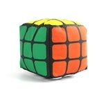 Rubik's Cube Plush (Solved)