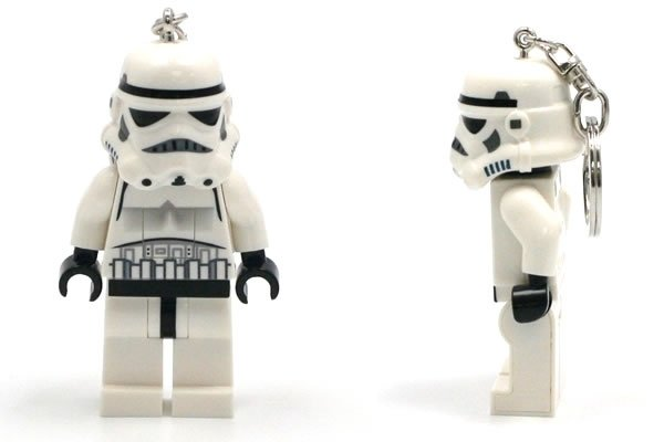 It is a LED lightshaped like a Star Wars minifig of a Stormtrooper