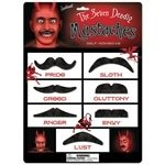 The Seven Deadly Mustaches