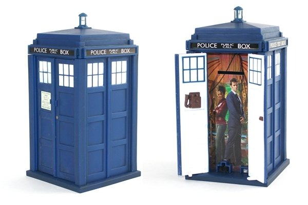 TARDIS Talking Money Bank