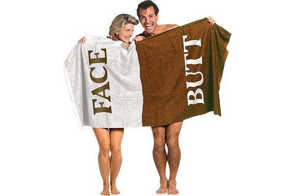 Butt/Face Towel