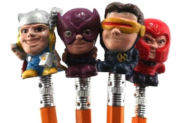 Marvel Eraser Set (Thor, Hawkeye, Cyclops, Magneto)