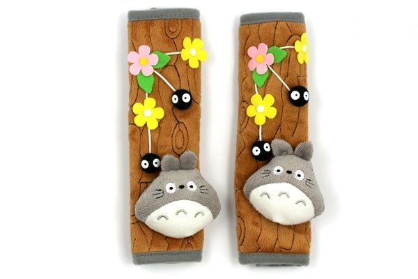 Totoro Seat Belt Covers (Set of 2)