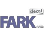 Fark Logo - Decal