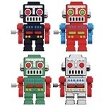 Walking Robot Keychain