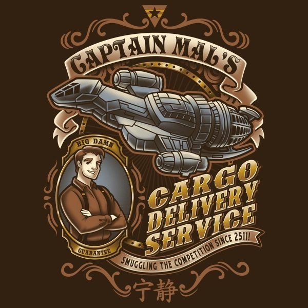 Captain Tight Pants Delivery T-Shirt