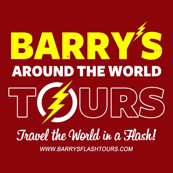 Barry's around the world tours