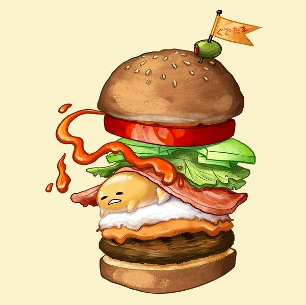 Deluxe Egg Burger