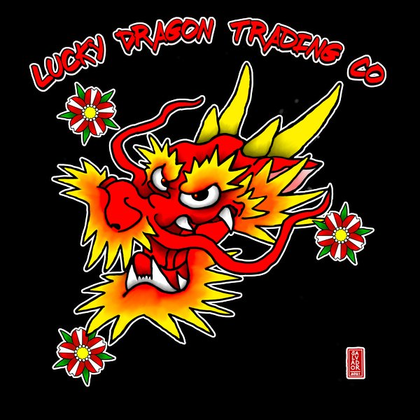 Lucky Red Dragon