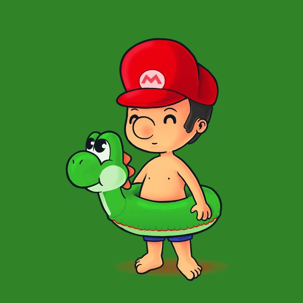 Mario is ready for summer