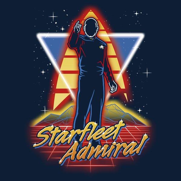 Retro Starfleet Admiral
