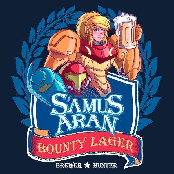 The Better Zebes Beer T-Shirt